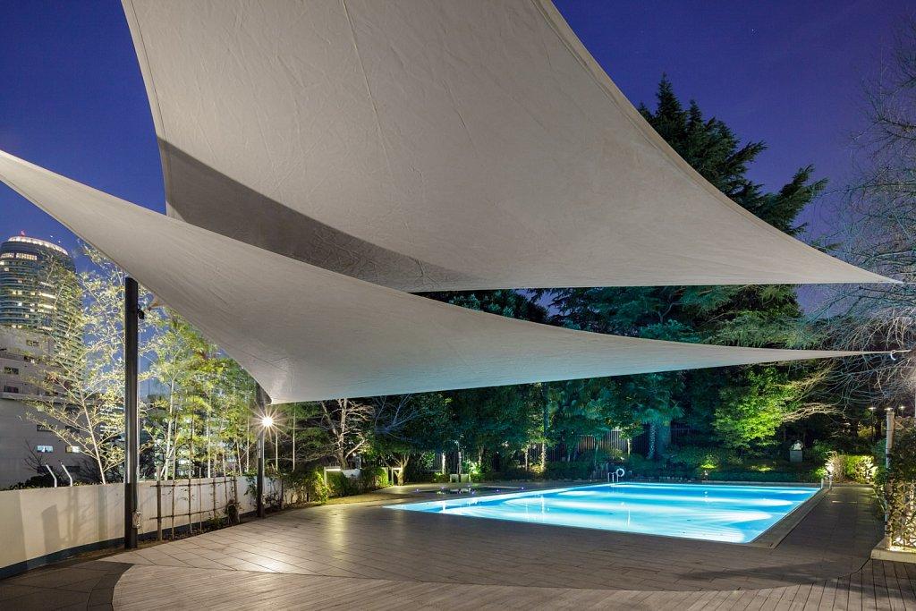 pool canopy