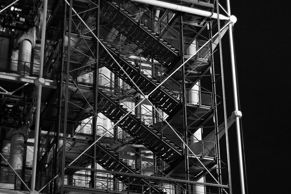 Centre Pompidou stairs
