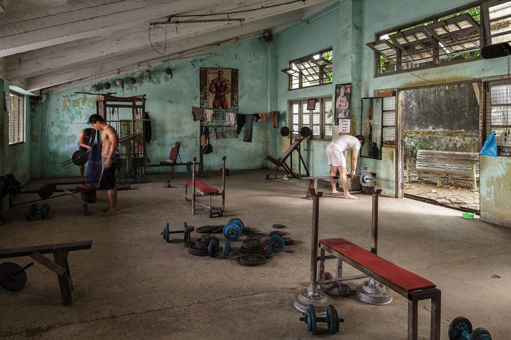Bogyoke Aung San Stadium Gym