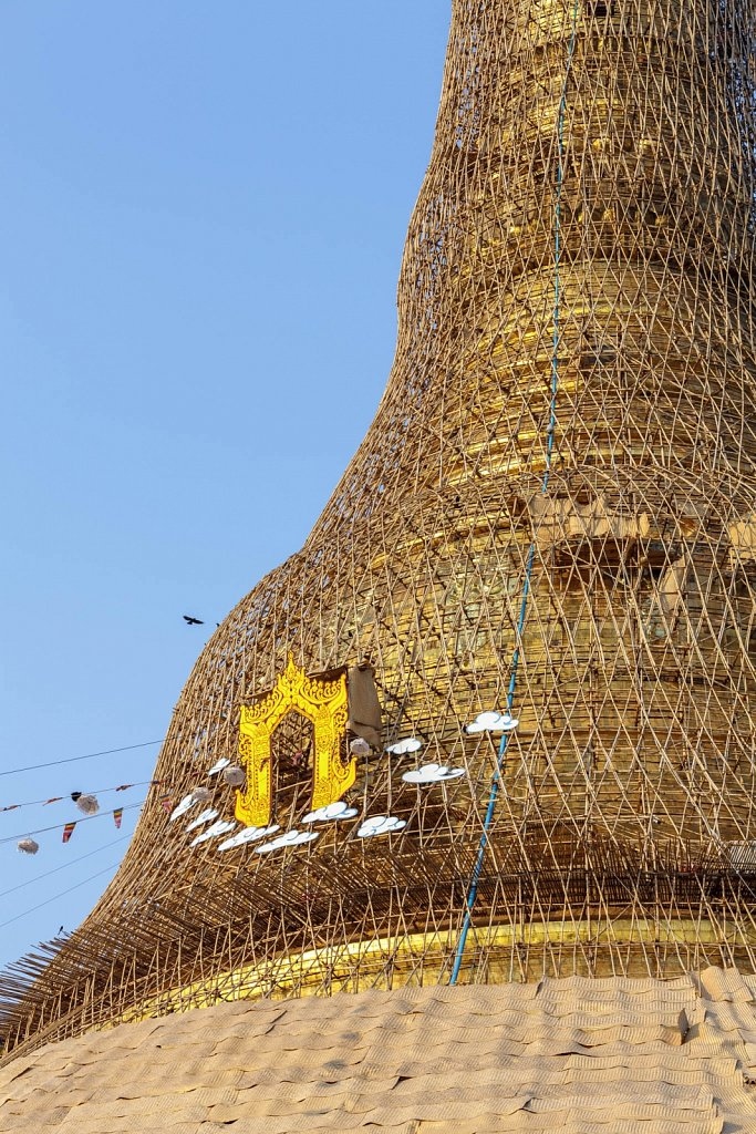 Shwedagon Pagoda Renovation